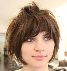 Short Shaggy Bob Hairstyles 2018 17 - Hairstyles Fashion and Clothing Shaggy Bob Hairstyles, Short Shag Hairstyles, Bob Hairstyles For Fine Hair, Short Bob Haircuts, Hairstyles 2018, Vintage Hairstyles, Short Shaggy Bob, Short Textured Hair, Choppy Bangs