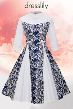 Finding perfect Vintage Dresses, Vintage Clothing and Casual Retro Dresses online at dresslily.Enjoy 20% off with code DLPIN6. #dresslily #vintage #retro #dresses
