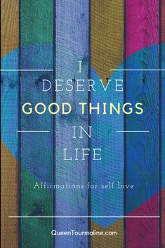 Affirmations to encourage self-love