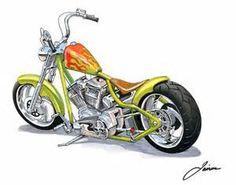 Chopper Motorcycle Drawings - Bing images