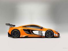 McLaren 650S GT3 1024 x 768 wallpaper