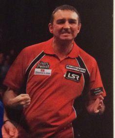 Richie Burnett Welsh darts player . ex world champion