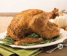 What's Thanksgiving without the turkey? This simple and easy recipe will have your guests asking for more.