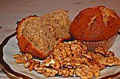 Vier Nuss-Muffin (Rezept mit Bild) von Terpsychore | Chefkoch.de