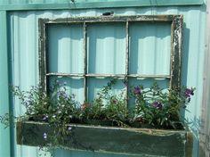faux window box