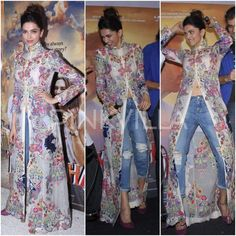 Yay or Nay : Deepika Padukone in Anamika Khanna | PINKVILLA                                                                                                                                                     More