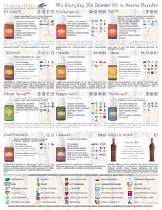 2015 *New* Printable Young Living Classes/Party Handout - Everyday Uses for the Everyday Essential Oils Collection *Di-Gize, R.C, & Copaiba*