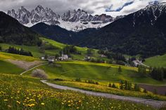 St. Magdalena in the Val di Funes, Italy