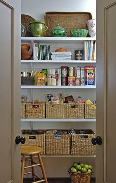 Pantry organizing ideas!
