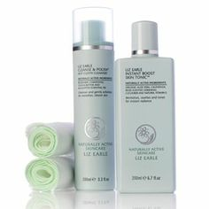 Cleanse and Polish hot cloth cleanser with almond milk & eucalyptus to soften & cleanse & Instant Boost Skin Tonic, a revitalising & comforting pick-me-up for brighter skin, with pure aloe vera oils & natural vit E 212054 - Liz Earle Cleanse/Polish & Tonic Set QVC Price: £28.02 + P&P: £3.95 http://www.qvcuk.com/Liz-Earle-Cleanse-Polish-and-Tonic-Set.product.212054.html?sc=CommissionJunction&ref=aff&cm_mmc=CJ-_-3507660_-5507647-_-QVC+UK+Produ+Catalog&source=212054