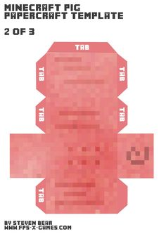 Minecraft-pig-body-template-2-3.png (1131×1600)