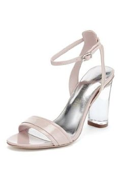Autograph Leather Clear Heel Sandals with Insolia®