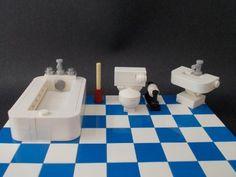 Bathroom Set w/ Toilet, Sink, Bathtub  More  Price : $15.00 http://www.interiorbricks.com/Bathroom-Toilet-Sink-Bathtub-More/dp/B00GMMDN0Y