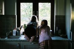 When Grace asks Jess what's wrong when she sees her staring blankly out the kitchen window. They have a talk about fear of whats gonna go down the next day