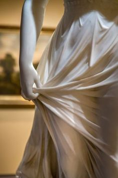 """Closeup of """"The West Wind"""" by Thomas Ridgeway Gould at the Memorial Art Gallery in Rochester, NY"""