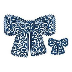 Tattered Lace Metal Die -  Chantilly Bow