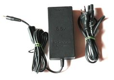 Playstation 2 Sony AC ADAPTOR 8,5V,Netzteil,Stromkabel für PS2 Ansehen!