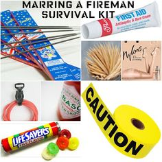 Giggleberry Creations!: Marrying A Fireman Survival Kit