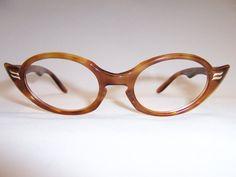 Bronze 1950's Deco revival Glasses- Vintage Glasses - Dead Men's Spex