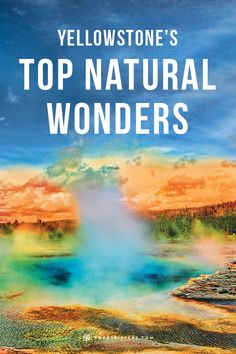 Yellowstone National Park was the first national park to be established in the world. Explore the wonders for yourself!