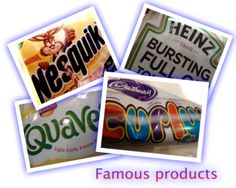 FAMOUS PRODUCTS:  A nice ice breaker, for age 6 upwards. Good for family parties, for dinner parties, for most social events, sleepovers and kids parties.  Preparation  Get a small piece of paper per person, and write down the name of some famous products that everyone in your age group will know. For example:  - sweets,  - chocolate bars,  - biscuits,  - toys,  - games.