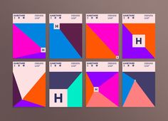 <p>Finish design Agency 358 Helsinki new identity for the international furniture & interior design fair Habitare diverse in color and shape and is based on a system that creates a new perspective and color scheme every time the centerpiece of the identity, the simple H-symbol symbolising a viewpoint or a door, is scaled or moved. […]</p>