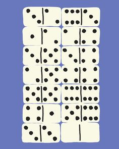 "Dominoes. 16"" x 20"" Fine Art Print. $80."