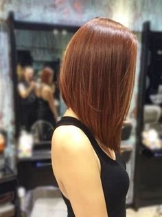 17 medium length angled bob hairstyles Just accept it; Medium Length Angled Bob Hairstyles are very beautiful, comfortable and give a feminine look. Being medium in size, they are very tren. Medium Hair Cuts, Medium Hair Styles, Short Hair Styles, Medium Curly, Long Bob Haircuts, Medium Bob Hairstyles, Hairstyles 2018, A Line Hairstyles, Celebrity Hairstyles