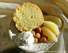 Almond Cake - delicious, subtle flavors.  Great for dessert or a snack!  Get the RECIPE!