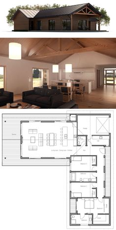 Container House – Plan de Maison – Who Else Wants Simple Step-By-Step Plans To D… Container House – Plan de Maison – Who Else Wants Simple Step-By-Step Plans To Design And Build A Container Home From Scratch? Barn House Plans, Small House Plans, House Floor Plans, Container House Plans, Building A Container Home, Sims House Design, Cottage Plan, Garden Cottage, Garden Art