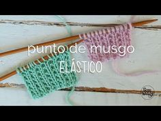 Punto Elástico Inglés: cómo se teje a dos agujas? Soy Woolly | Soy Woolly Knitting Basics, Knitting Help, Knitting Videos, Crochet Videos, Knitting Stitches, Baby Knitting, Knitting Patterns, Crochet Patterns, Crochet Projects