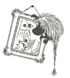 The Ancestor, displaying a keen artistic sensibility Scandinavian Pattern, Scandinavian Style, Moomin Tattoo, Fuzzy Felt, John Bauer, Moomin Valley, Tove Jansson, Children's Book Illustration, Illustrations