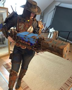 Fallout 4 Cosplay Boner incoming ~ by kamuicosplay - Fallout Costume, Fallout Props, Fallout Cosplay, Fallout Art, Epic Cosplay, Cosplay Diy, Amazing Cosplay, Cosplay Ideas, Fallout Funny