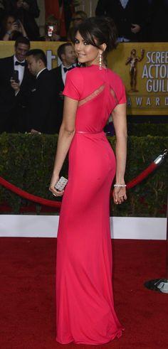 Favourite Celebrity Gown At The SAG Awards: Nina Dobrev - My Fash Avenue