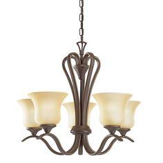 Kichler Lighting Wedgeport Collection 5-light Olde Bronze Chandelier