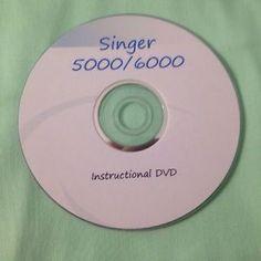 Singer Quantum XL-5000/6000 instructional DVD