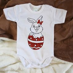 Easter bunny onesie Easter bunny outfit Easter by happychildshop
