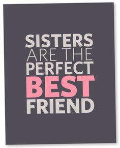 Sisters Poster // 11x14 van CocoandBubbles op Etsy