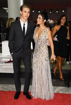 Pin for Later: Vanessa Hudgens and Austin Butler Can Work the Hell Out of a Red Carpet