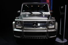 2016 Mercedes-Benz G65 AMG V12 at New York Auto Show - AutoNation ...