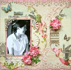 Layout: Thought * Scrap That! June Kit Life's Muse *