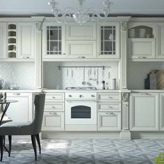 Kitchen Island, Kitchen Cabinets, Dom, Home Decor, Italian Cuisine, Home Kitchens, Luxury, Island Kitchen, Decoration Home