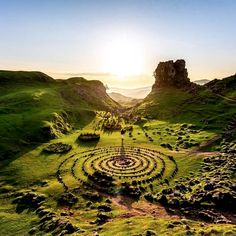 Fairy Glen, Isle of Skye, Scotland Places Around The World, Oh The Places You'll Go, Places To Travel, Places To Visit, Fairy Glen, Reisen In Europa, Voyage Europe, England And Scotland, Europe Destinations