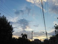 Sundown in my hometown.