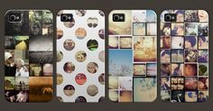 CASETAGRAM- Hardshell case made up of your chosen instagram images. <3