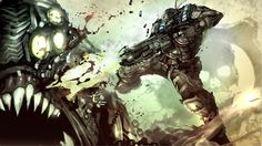 Gears Of War - Lanzor Attack #GOW