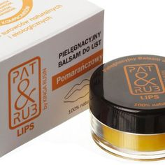 Balsam do ust z masłem pomarańczowym i olejkiem z pomarańczy - 100% natury tak ważne na ustach!