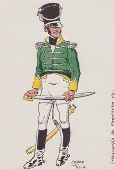 Regno di Spagna - Regimiento de Caballería de Fernando VII 1810