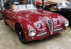 #412037 Tipo 412 Bonetto 1951 Vignale MM car a replica....