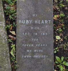 Pet Cemetery, Hyde Park, London.